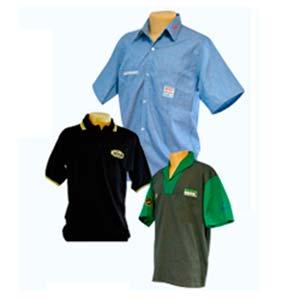 Informações sobre uniformes profissionais